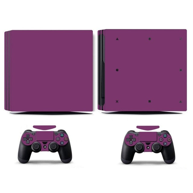 LIMITED EDITION PS4 PRO VINYL SKIN BUNDLE IN PURPLE