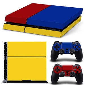 LIMITED EDITION PS4 VINYL SKIN BUNDLE IN TRICOLOR