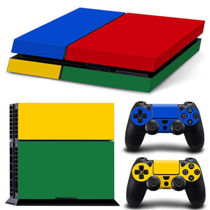 LIMITED EDITION PS4 VINYL SKIN BUNDLE IN QUADRICOLOR