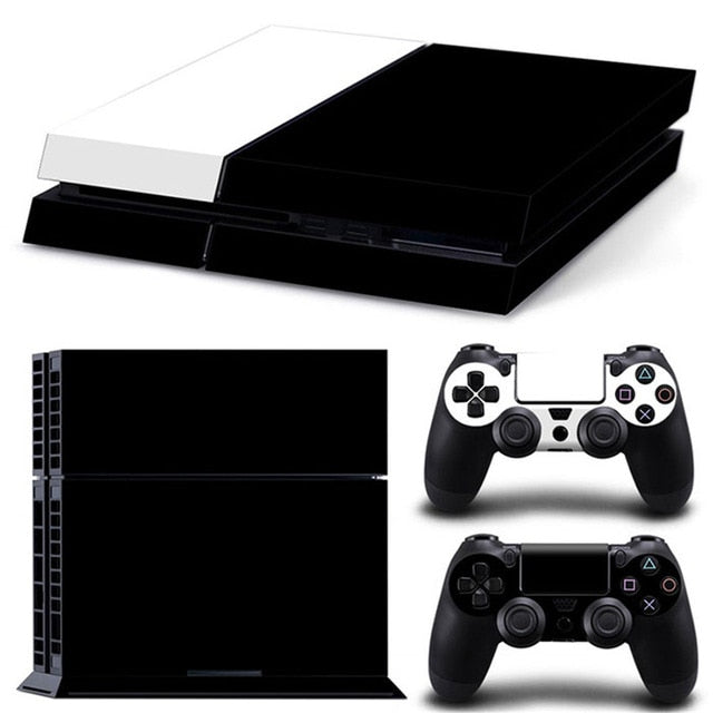 LIMITED EDITION PS4 VINYL SKIN BUNDLE IN BLACK & WHITE