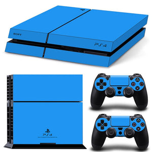 LIMITED EDITION PS4 VINYL SKIN BUNDLE IN SKYBLUE