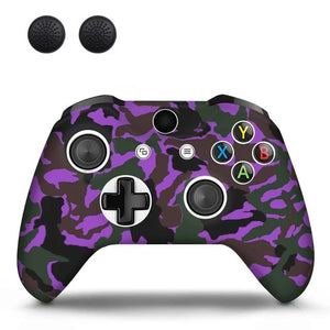 XBOX CONTROLLER LIMITED EDITION SKIN IN PURPLE CAMO