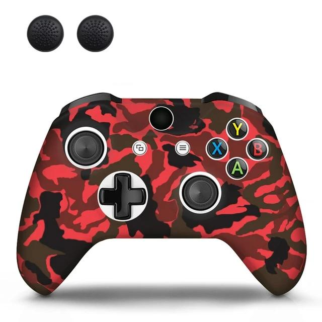 XBOX CONTROLLER LIMITED EDITION SKIN IN RED CAMO