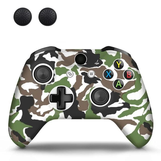 XBOX CONTROLLER LIMITED EDITION SKIN IN BROWN CAMO