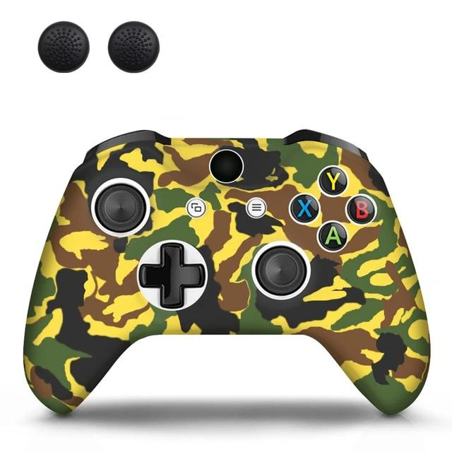 XBOX CONTROLLER LIMITED EDITION SKIN IN YELLOW CAMO