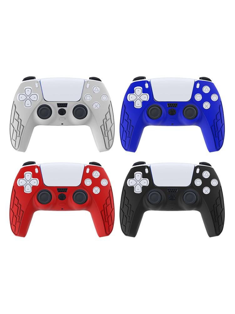 PS5 CONTROLLER SILICONE CASE IN RED