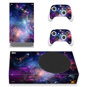 XBOX SERIES S SIGNATURE SKIN IN BLUE GALAXY