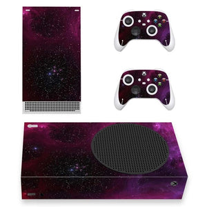 XBOX SERIES S SIGNATURE SKIN IN PURPLE GALAXY