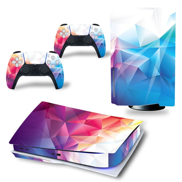 LIMITED EDITION POLYGON PS5 VINYL SKIN BUNDLE