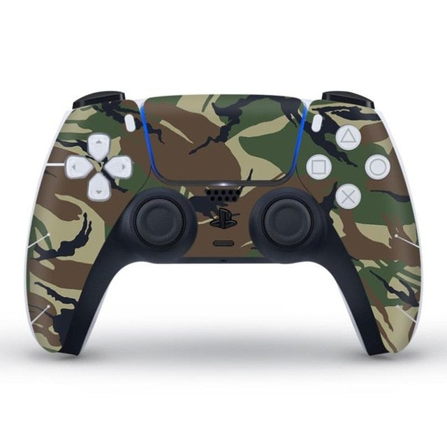 PS5 CONTROLLER LIMITED EDITION SKIN IN CAMO