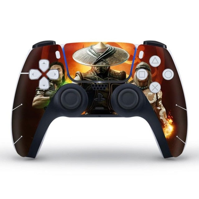 PS5 CONTROLLER LIMITED EDITION SKIN IN MORTAL KOMBAT II AFTERMATH
