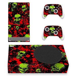 XBOX SERIES S SIGNATURE SKIN IN NEON SKULLS