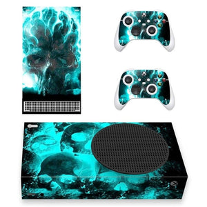 XBOX SERIES S SIGNATURE SKIN IN CYAN SPACE