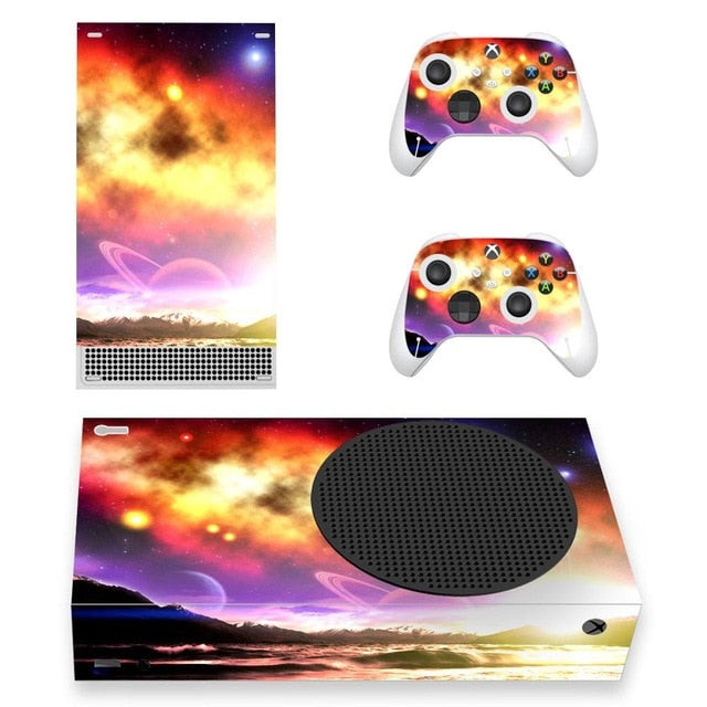 XBOX SERIES S SIGNATURE SKIN IN YELLOW SPACE