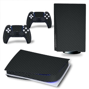 LIMITED EDITION CARBON BLACK PS5 VINYL SKIN BUNDLE