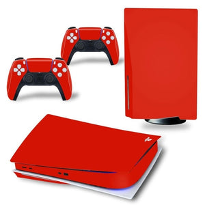 LIMITED EDITION RED PS5 VINYL SKIN BUNDLE