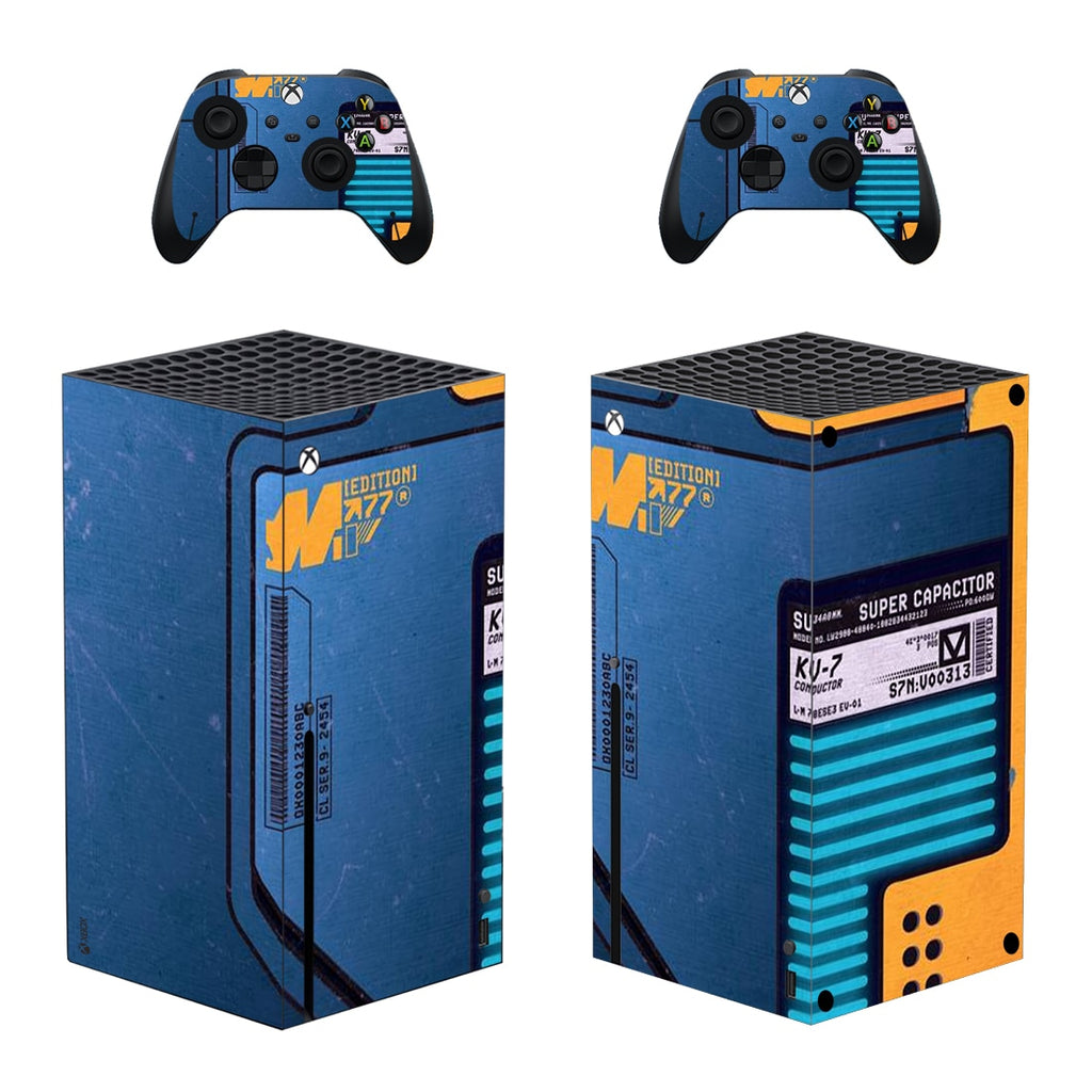 XBOX SERIES X CUSTOMER CYBERPUNK SKIN