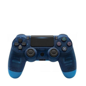 PS4 WIRELESS GAMEPAD IN TRANSPARENT BLUE