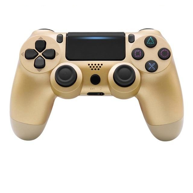 PS4 WIRELESS GAMEPAD IN GOLD