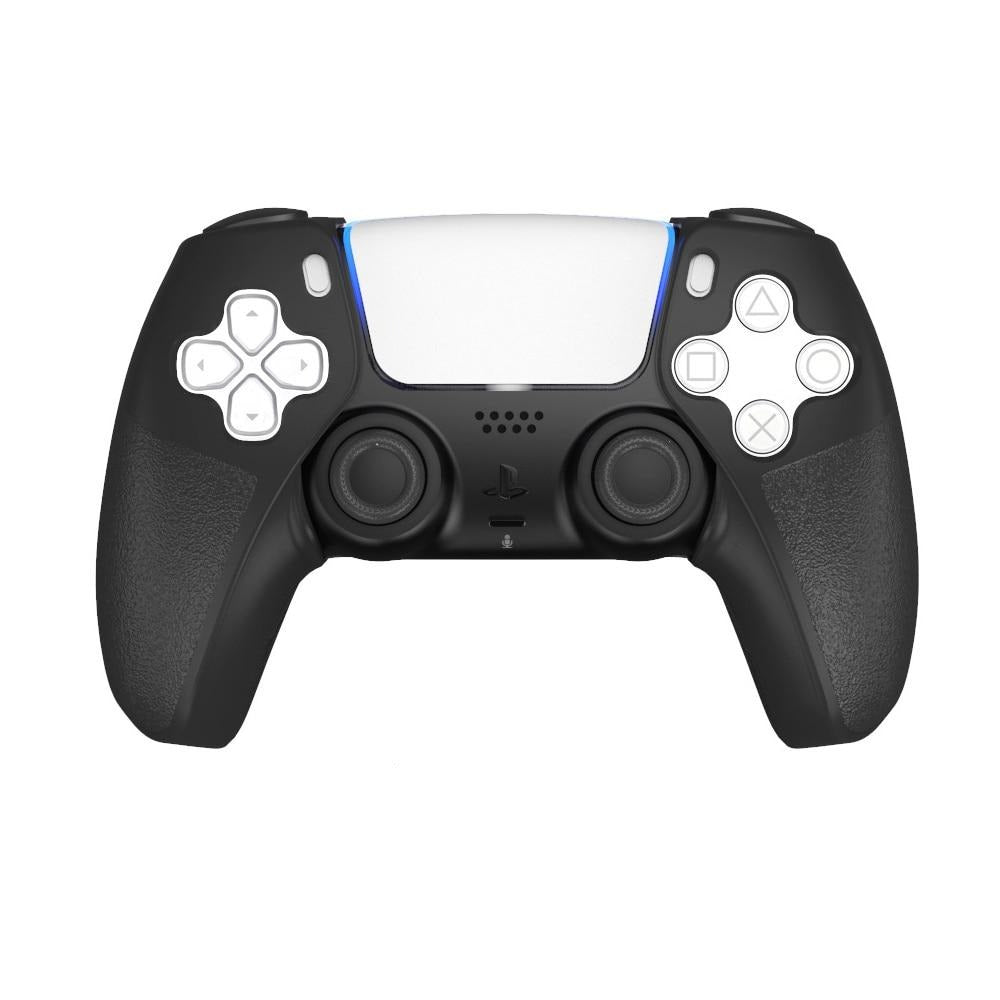 PS5 CONTROLLER SILICONE CASE IN BLACK