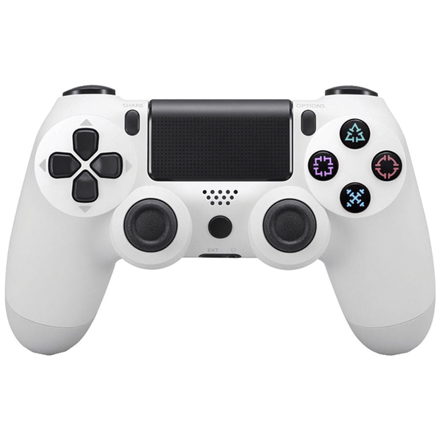PS4 WIRELESS GAMEPAD IN WHITE