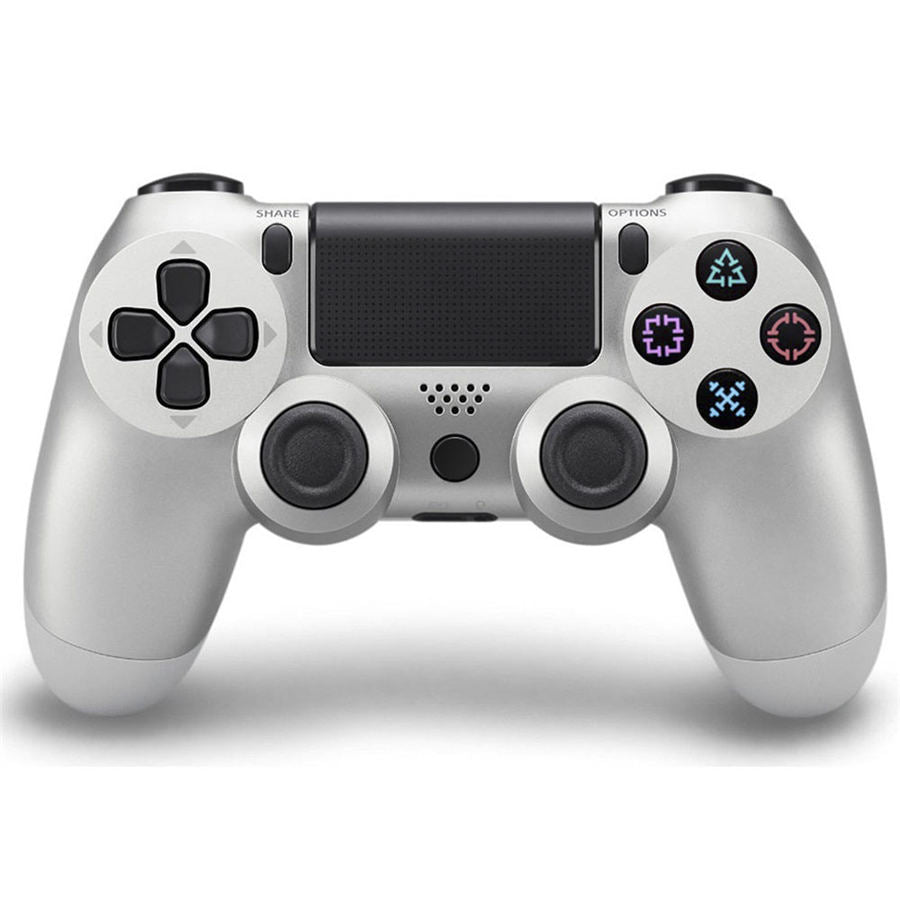 PS4 WIRELESS GAMEPAD IN SILVER