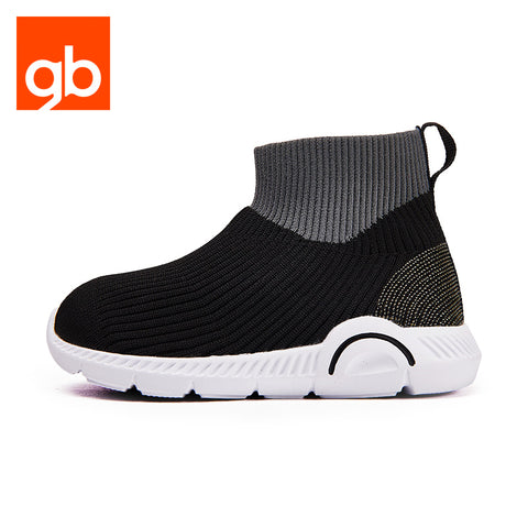 Goodbaby Speed Trainer Mid-High Sports Shoes Black