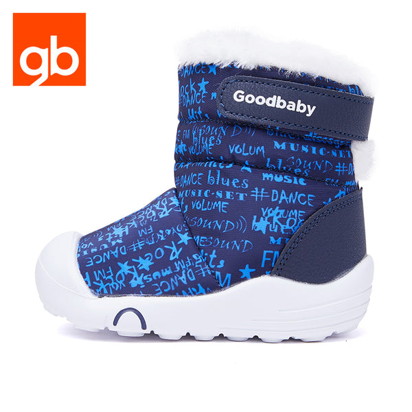 Goodbaby Hightop Scrawl Shearling Boots Blue