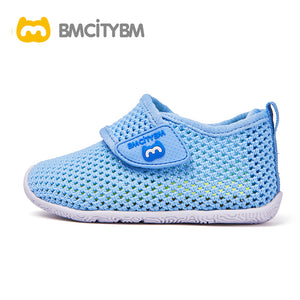 Dathem Knitted Mesh Sandals Blue
