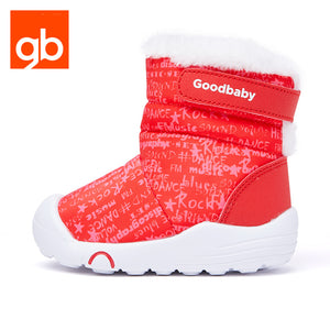 Goodbaby Hightop Scrawl Shearling Boots Red