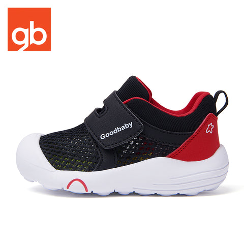 Goodbaby Air Max Velcro Strip Black Toddlers (Sports Shoes)