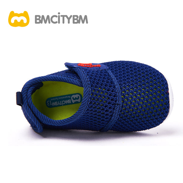 Dathem Knitted Mesh Sandals Navy