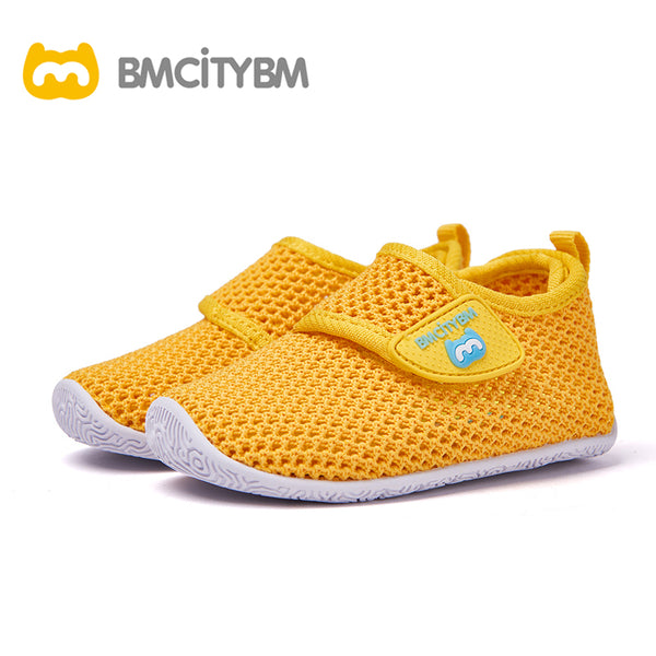 Dathem Knitted Mesh Sandals Yellow