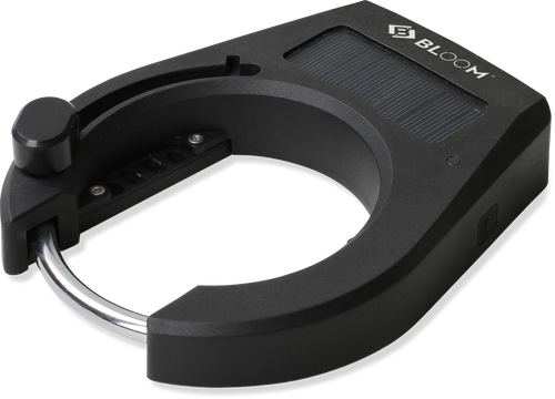 BLOOM1 Solar Powered Bluetooth Ring Lock for Bike Sharing
