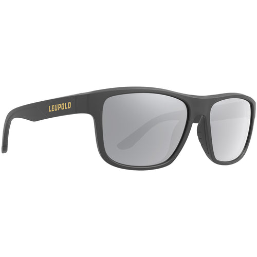 Leupold Katmai Sunglasses Matte Black / Shadow Gray Flash