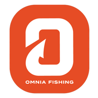 Omnia Fishing Rounded Square Sticker