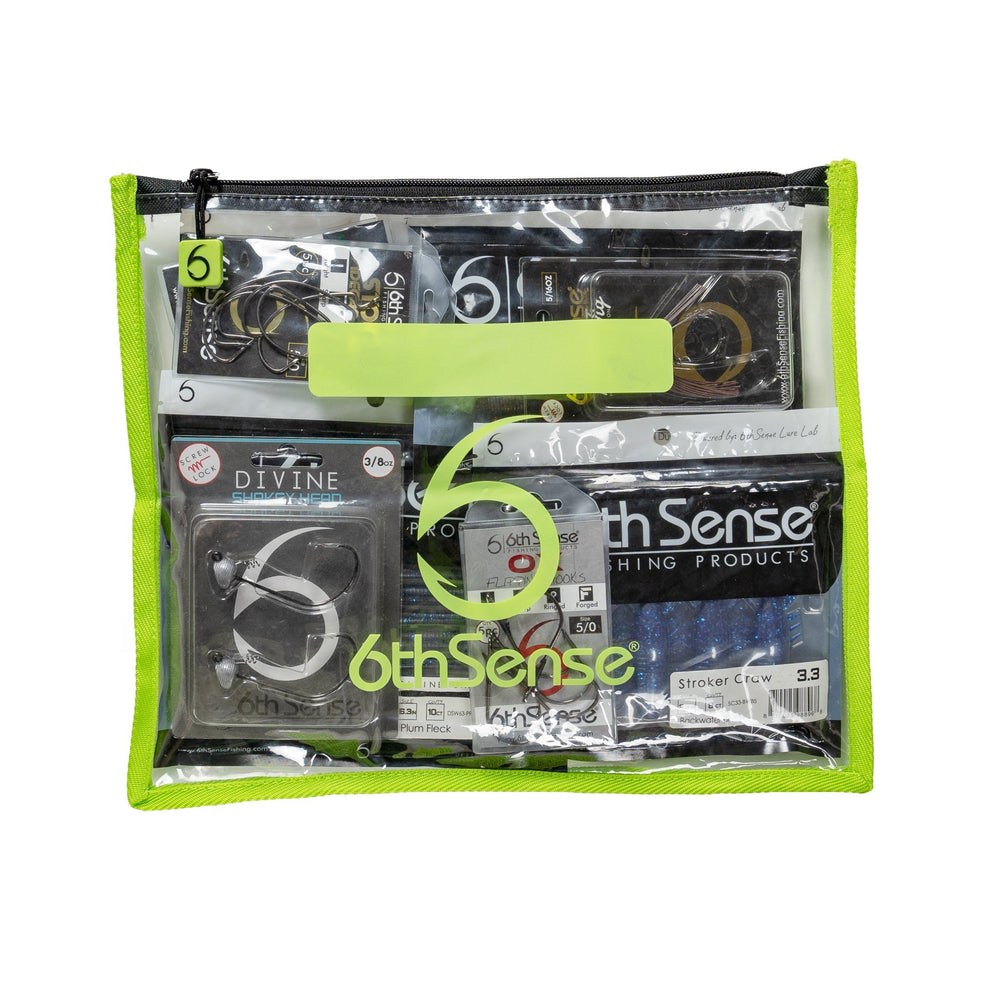 6th Sense BaitZip Bags Green