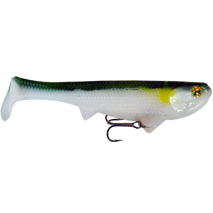 "Optimum Baits Rigged Boom Boom Swimbait 6"" / Ayu"
