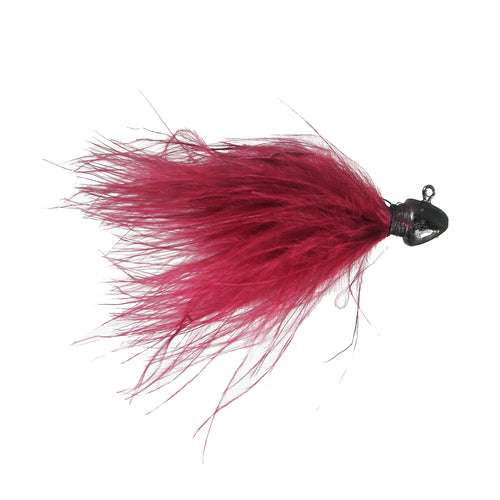 Feider Fly Marabou Jig Wine / 3/32 oz