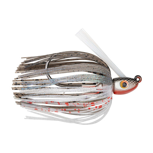 Strike King Hack Attack Heavy Cover Swim Jig 3/8 oz / Smokey Shad