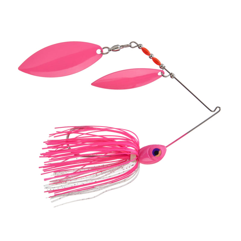 Cumberland Pro Lures HydroSpin Double Willow Spinnerbait 3/8 oz / Smallmouth Magic