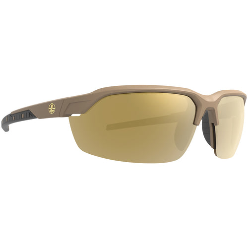 Leupold Tracer Sunglasses Shadow Tan / Polarized Bronze Mirror/Yellow/Clear