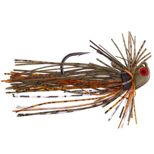 Cumberland Pro Lures ProCaster Bitsy Finesse Jig 3/16 oz / Barren Craw