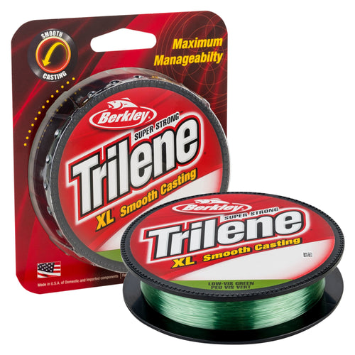 Berkley Trilene XL Low-Vis Green / 6LB