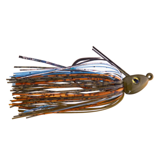 Cumberland Pro Lures Limit Out Compact Swim Jig 1/4 oz / Blue Gilz