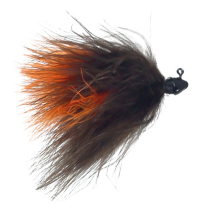 Feider Fly Marabou Jig Brown/Orange / 3/32 oz