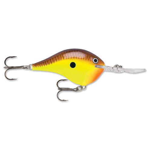 """Rapala DT 16 Chartreuse Brown / 2 3/4"""""""