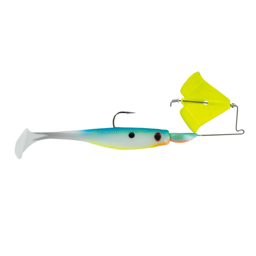 Big Bite Baits Suicide Buzz 3/8 oz / Silver Blade/Pearly Shad