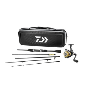 Daiwa Carbon Case Travel Combo