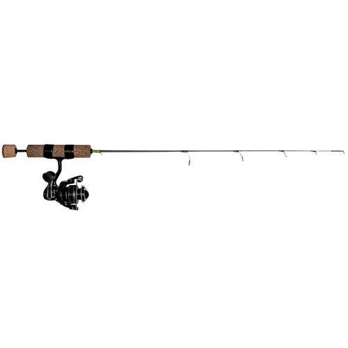 "Frabill Ice Hunter Finesse Spinning Combo 27"" / QT"